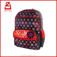 new fashion Argyle teenagers bag with flower