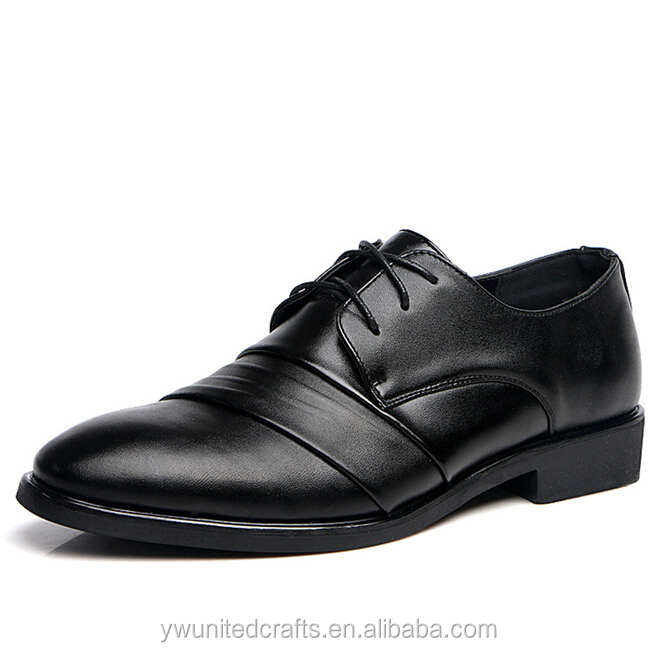 2014 factory new style fashion genuine man leather shoe