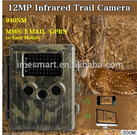 HT002LIM 12MP GPRS/GSM/MMS scouting cameras waterproof IP54 hunting camera