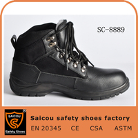 comfortable men work shoes and affordable slip resistant safety shoes and shock resistant pictures of working shoes SC-8889