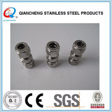 top quality 304/316 Stainless steel Union Compression Tube Fittings swegelok pipe fitting