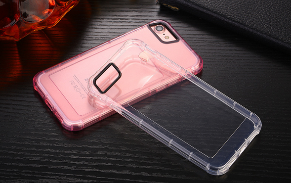 hot sale ultrathin transparent phone case cover protect cell phone case for iphone7