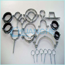 high quality rubber lined split pipe clamp china supplier
