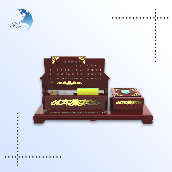 Excellent customized logo print design handmade hard wood smoke box