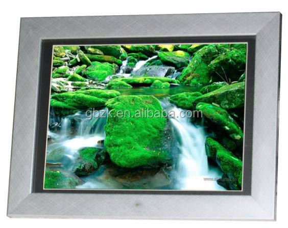 MPEG/MPG/DAT/3GP Auto Rotate Low Price Paper Photo Frame Remote Control Bluetooth Wifi Digital Photo Frame