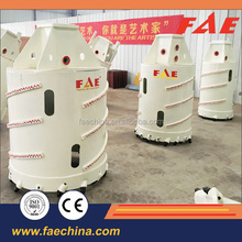 Earth foundation piling, Roller cone cutters/plam bits concrete core barrels with bullet teeth/roller bits