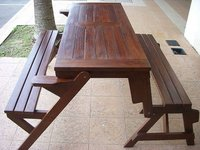 teak magic bench