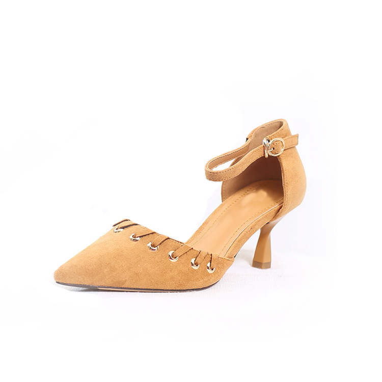 Italy fashionable comfortable women high heels shoes