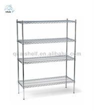 Chrome finish commercial used Heavy Duty Storage Wire Shelving