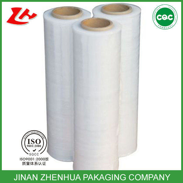 polyester film packaging wrap stretch film LLDPE hot film