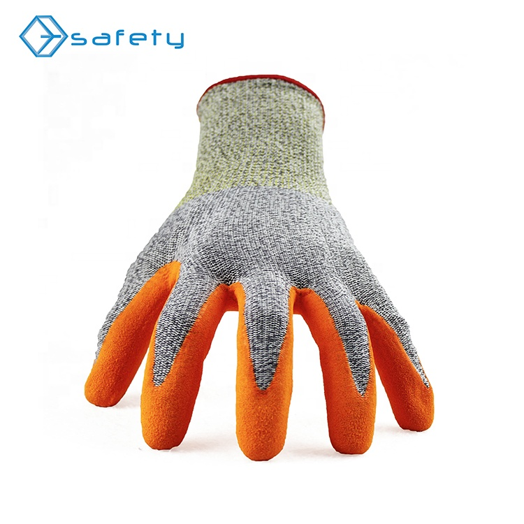 best cut protection nitrile rubber insulated gloves