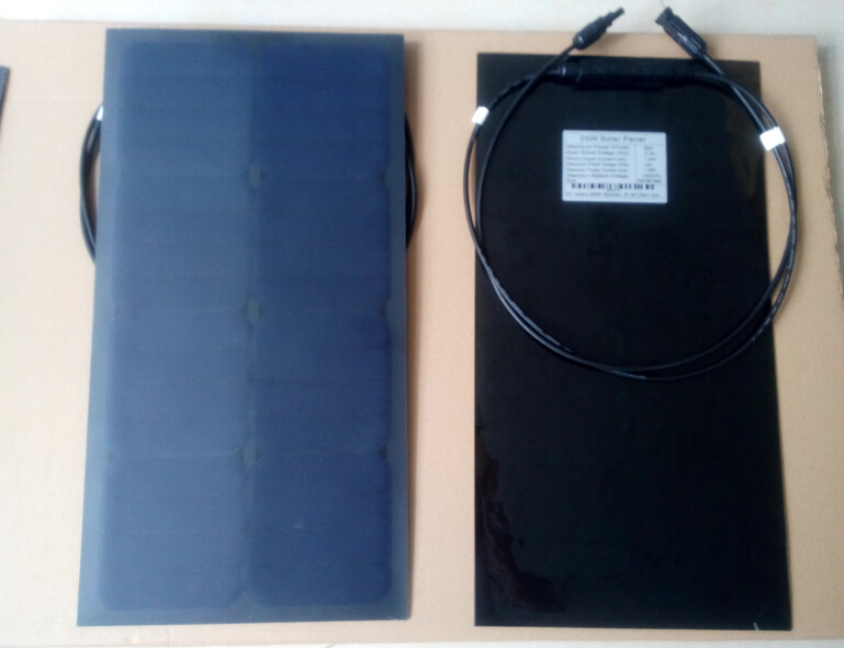 thin film solar panel manufacture 25w flex solar module