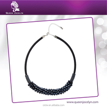 Brand Imitation Glass Handmade Bead Necklace Jewellery for Women in Duty Free Marketing