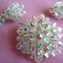 Crystal Glass Material Crystal beads for wedding dress