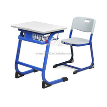 China Standard Size of School Furniture Student Chair and Desk Set