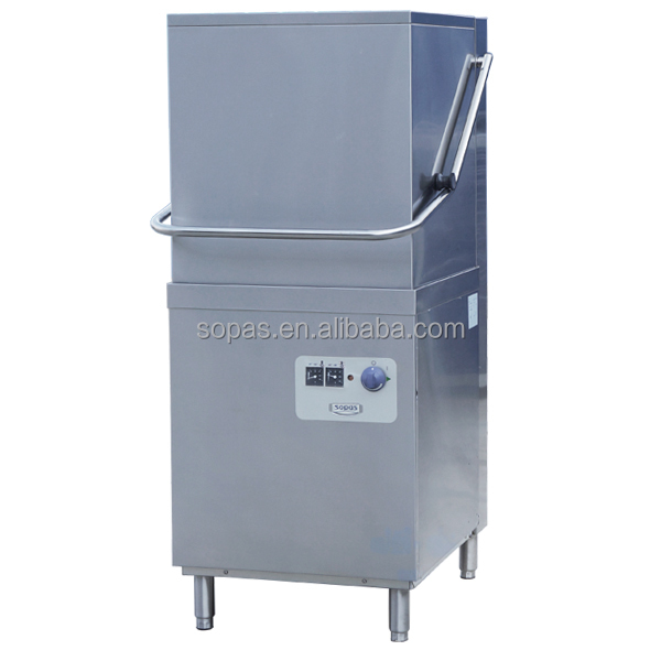 Hood type industrial detergent dishwasher buy industrial for Types of kitchen appliances