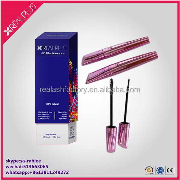 7sets sample worthy solution REAL PLUS fiber lash mascara wholesale