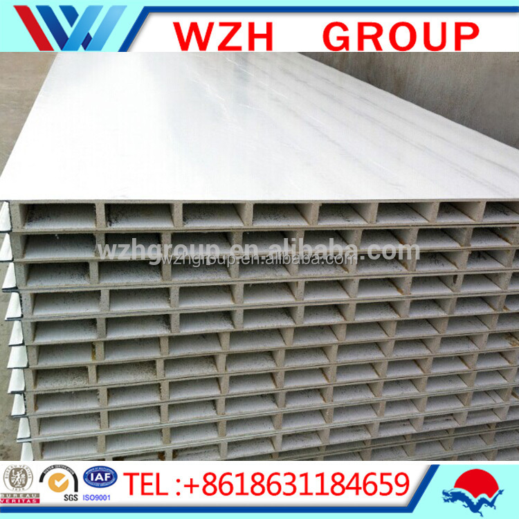 New building materials hollow wall panel mgo for food for New roofing products