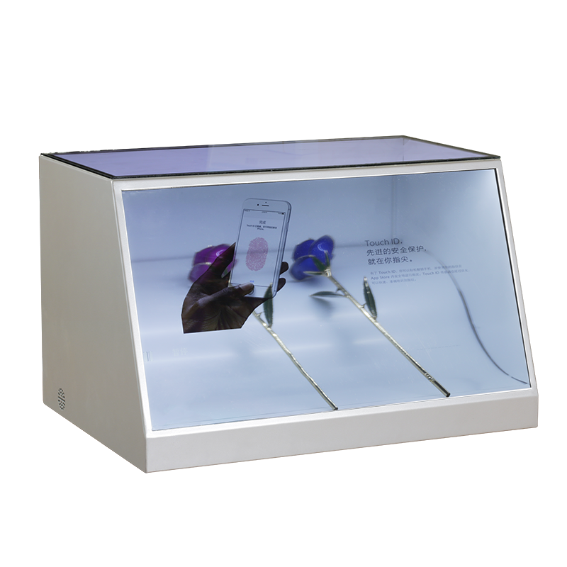 LCD Transparent Flexible Display Showcase