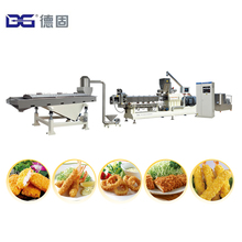 2017 Hot Sale Bread Crumbs Making Extruder Processing Line