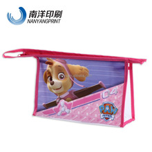 pvc bag with cartoon culture for store items
