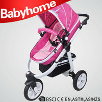 luxury 3 in 1 baby stroller with car seat remote control stroller