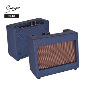 5W Portable Battery Powered MINI Guitar Amplifier