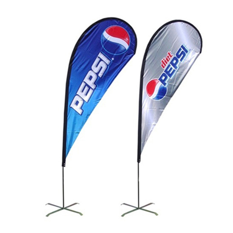durable outdoor advertising feather flag /tear drop banner /flying flag