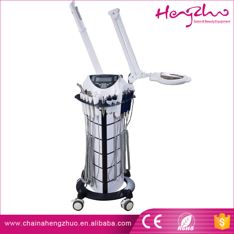 2016 New 9in1 multifunctional facial beauty machine beauty parlor