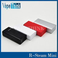 Vape Smok R Stem Mini 80W TC Mod in Stock, Black White Silver Red Color available for Smok R Steam Mini, Order Now Get 5% OFF!