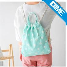 2016 New Products cheap cute children school drawstring backpack