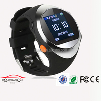 smart wrist watch phone GPS trackerTK203O one key dial out and online App tracking