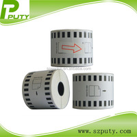DK-22225 strong and durable label tapes ,continuous length labels