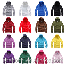 Wholesale custom color men and women plain sports hollister pullover hoodies with hood