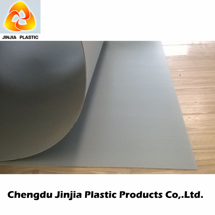 Corrugated Fluted Plastic Correx board for Floor Protection Sheets