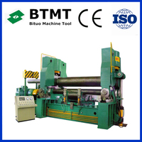 BTMT Brand W11 Series conical bending plate rolling machine price with great price