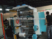 Two colors flexo printing machine for plastic film