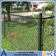 Used chain link fence post design