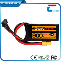 3.7V 900mAh 20C Lipo li-po RC Battery for Heli helicopter airplane RX