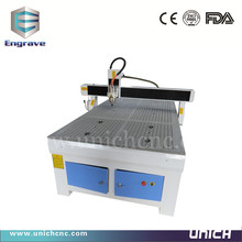 UNICH China popular cnc router engraver machine 1224/smart and strong enough cnc cutting machine