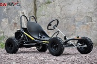 200cc 6.5HP Gas Powered Cheap Racing Go Kart Upgraded 4 wheeler QWMOTO