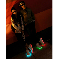 womens shoes lighting led shoes led usb charge shoes