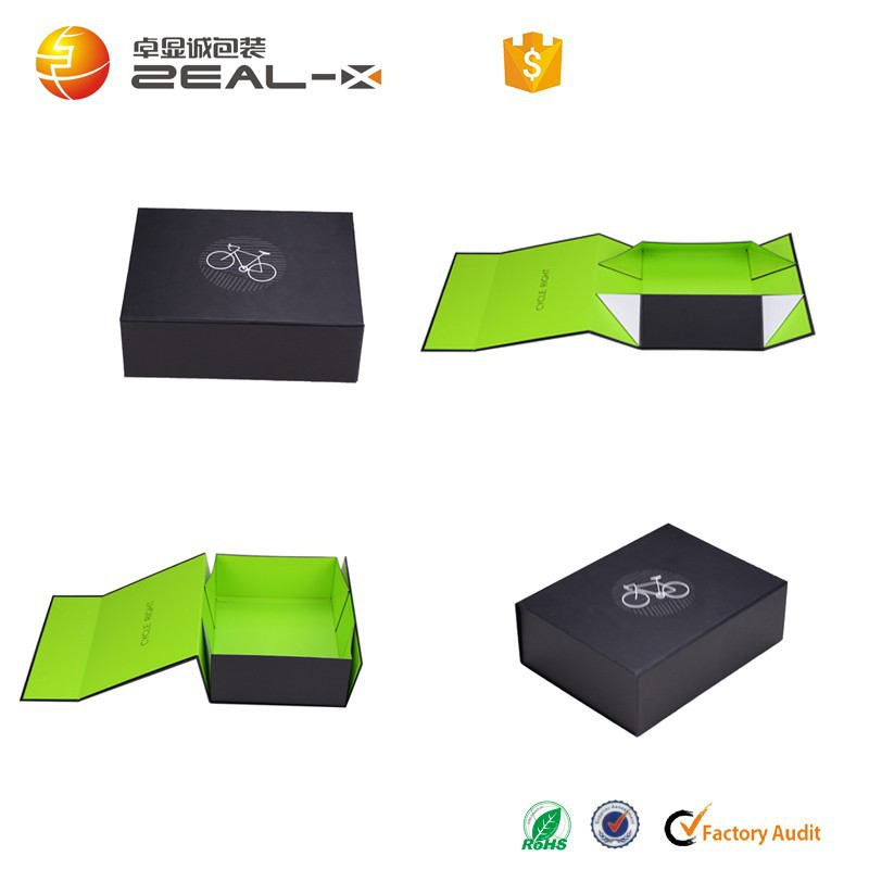 37x27x13cm Life Green Printed Made For UK Brand Matte Box Black Packaging Boxes