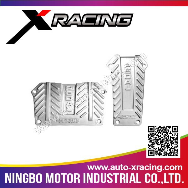 Xracing-NMXB-855 auto gas pedal,rubber feet pedal pad,rubber brake pedal