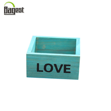 Natural Unfinished Small Varnished Wooden Box Wholesale