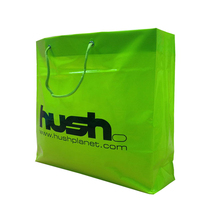 High Quality Rope Handle Plastic Shopping Bag