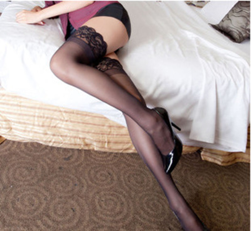 Newest Fashion Sexy Lady Lace Thigh Lingerie High Tights Stockings