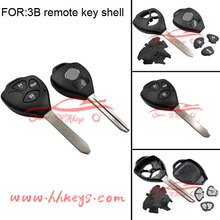 Replacement Toyota Blank Key Shell For Toyota Camry 2015 2016 Key 3 Button H Chip 313.8Mhz