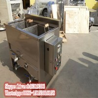 New design sweet potato chips frying machine