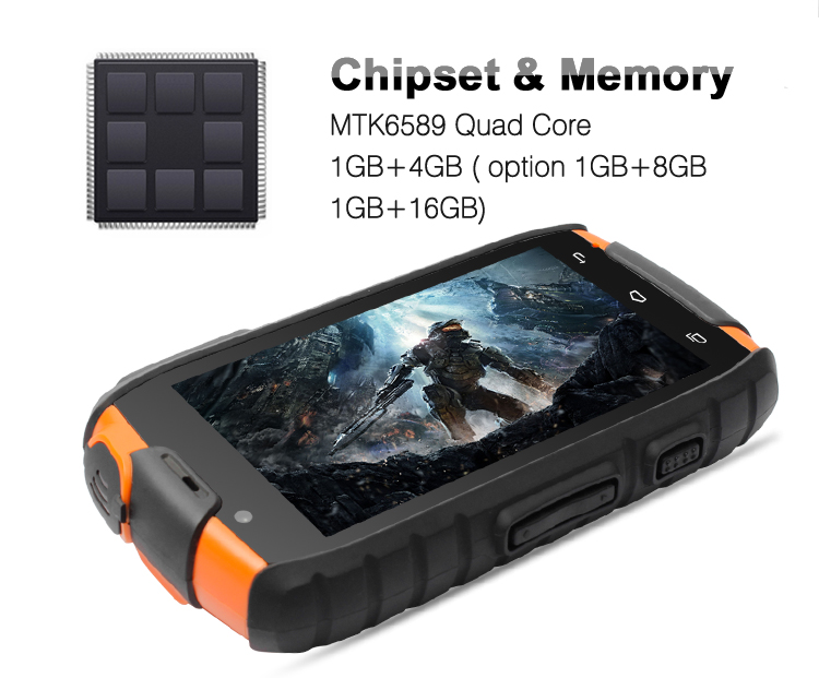 Custom Ip68 Android Best Military Grade Cell Phone Rugged